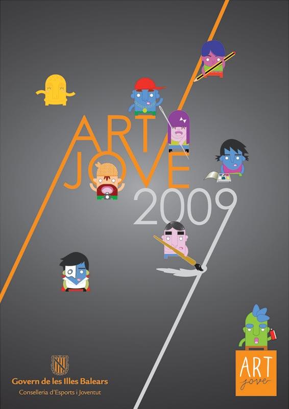 Diseño de la Imagen del Certamen Art Jove 2009