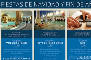 Diseño de Anuncios para la cadena de hoteles Grupotel