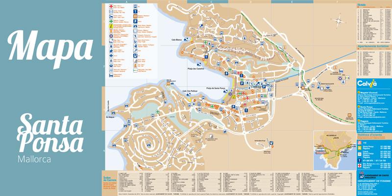 Diseño Guía Hotelera de Santa Ponsa