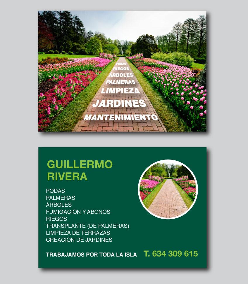Dise o gr fico folleto jardiner a h2a comunicaci for Imagenes de jardineria gratis