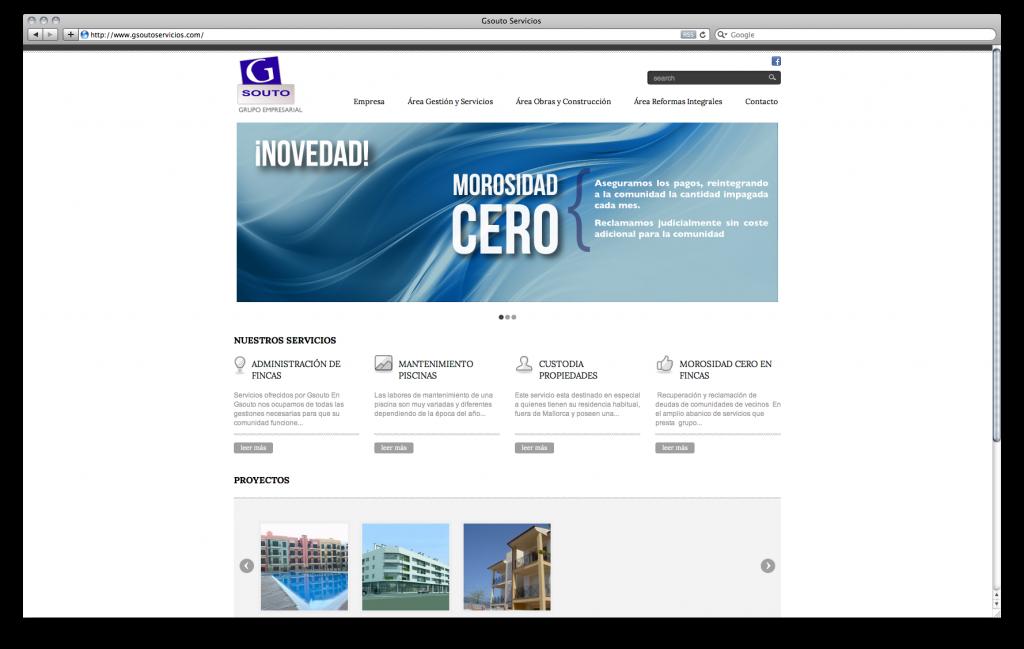Web Gsouto Servicios H2a Comunicaci Empresa Dise O Web Y