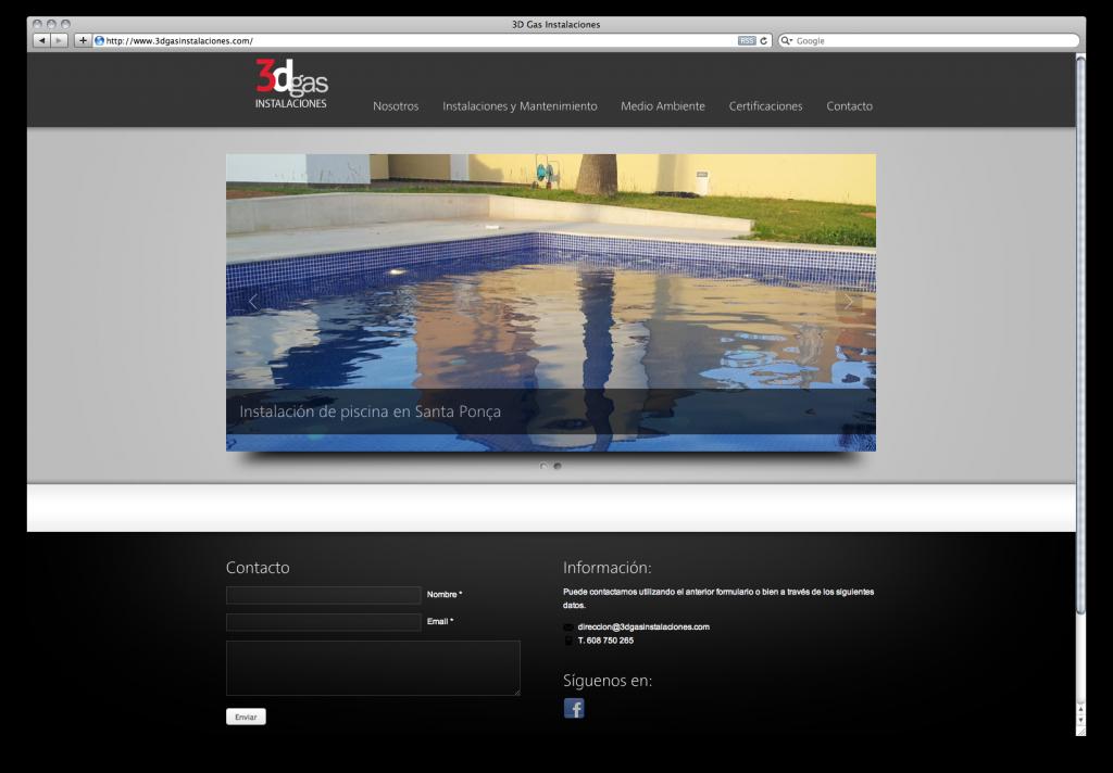 3Dgas Instalaciones