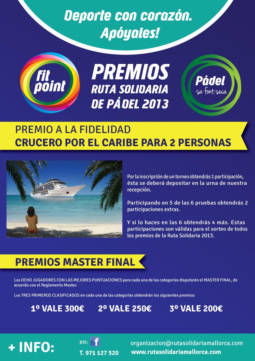 diseño gráfico premios torneo pádel