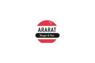creación logotipo restaurante hamburguesería Ararat