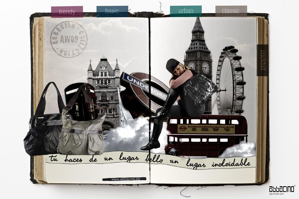 Campaña Abbacino AW'09. Ejecución Londres