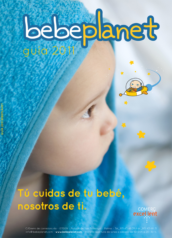 Diseño de la Portada de la Guía de Bebeplanet