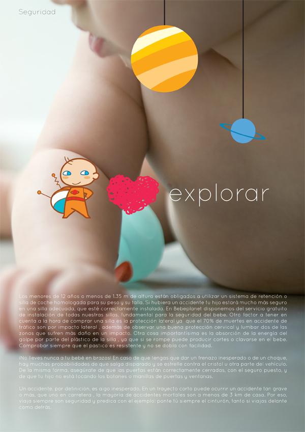 Diseño interior de la Guía de Bebeplanet