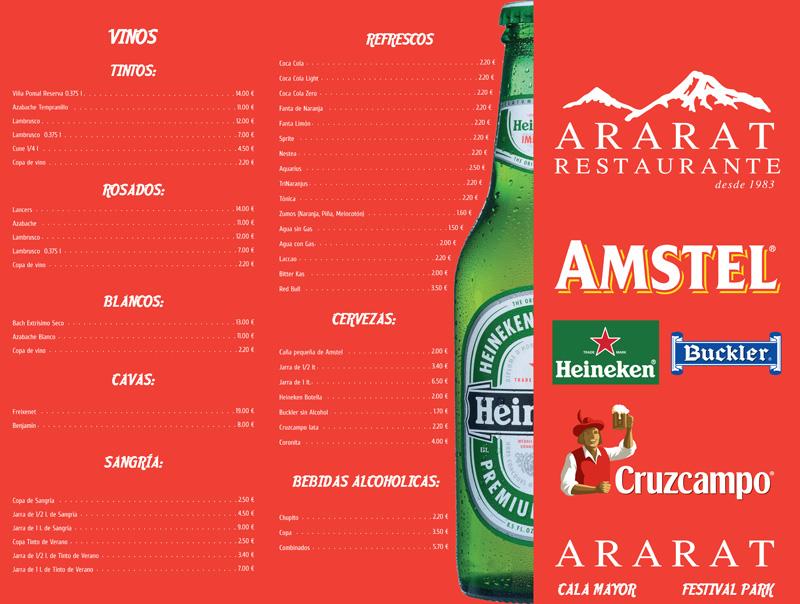 Diseño de las Cartas de Ararat