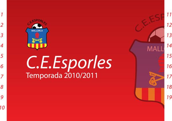 Carnet de socio del C.E.Esporles para la temporada 2010/11