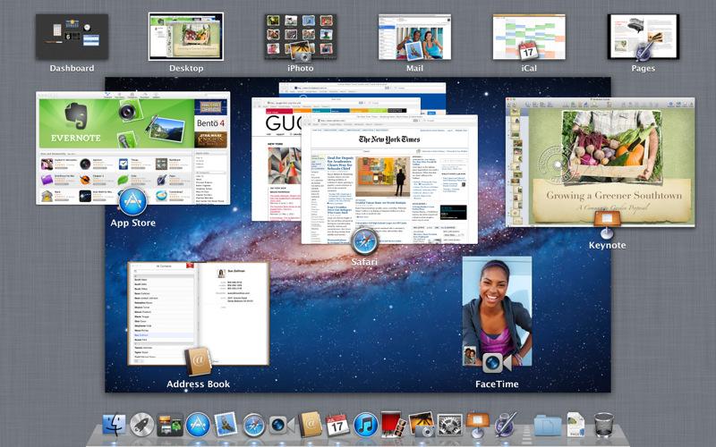 Así es el nuevo sistema operativo Apple Mac Lion