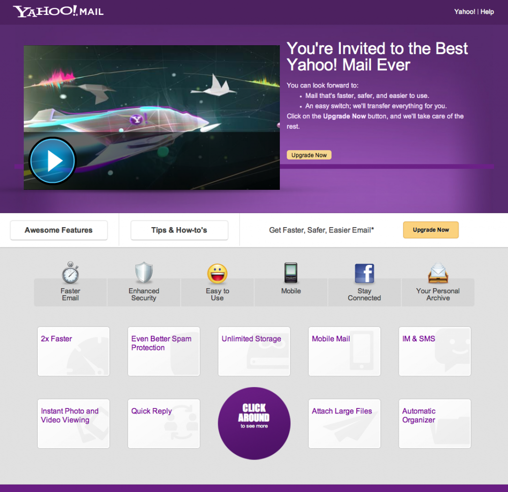 Nuevo correo de Yahoo!
