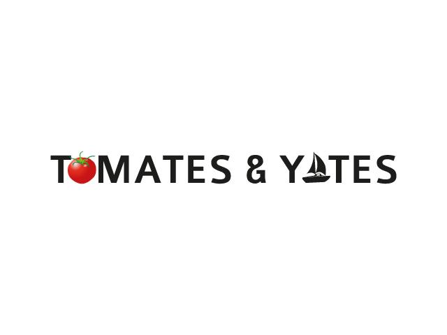 Diseño del Branding de Tomates y Yates