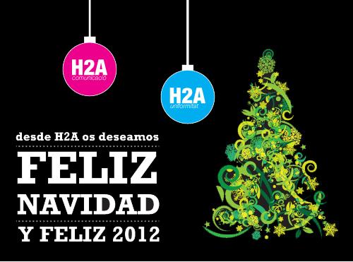 felicitación navidad y año 2012