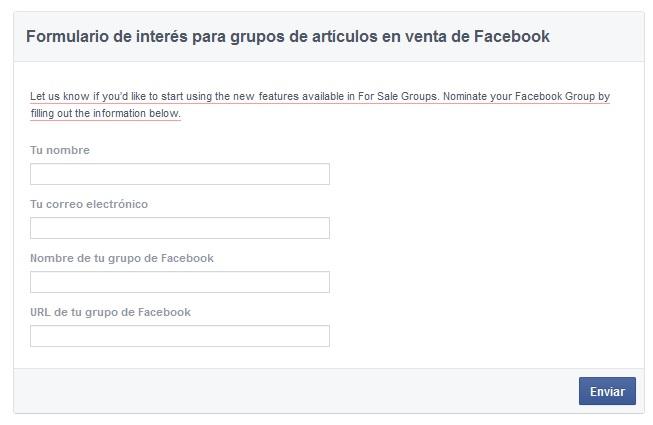 compraventa grupos facebook