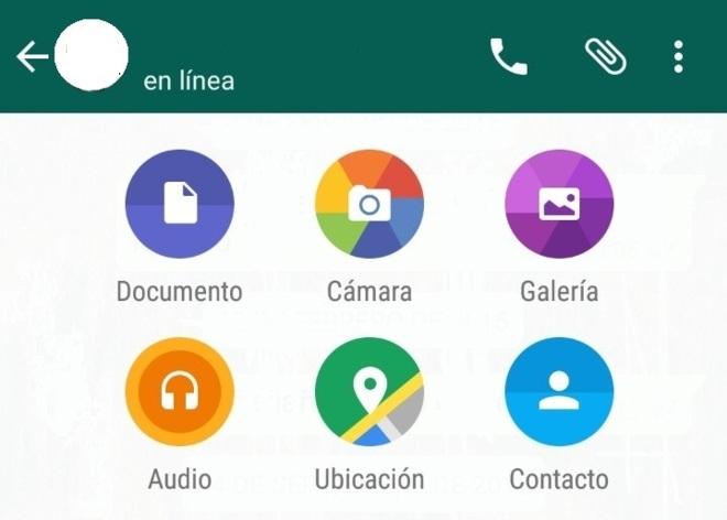 Cómo compartir archivos por WhatsApp